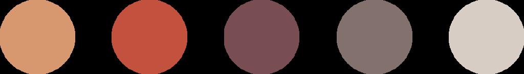 The Visual Team web thumbnail - Malaysia Isometric landmarks color palette