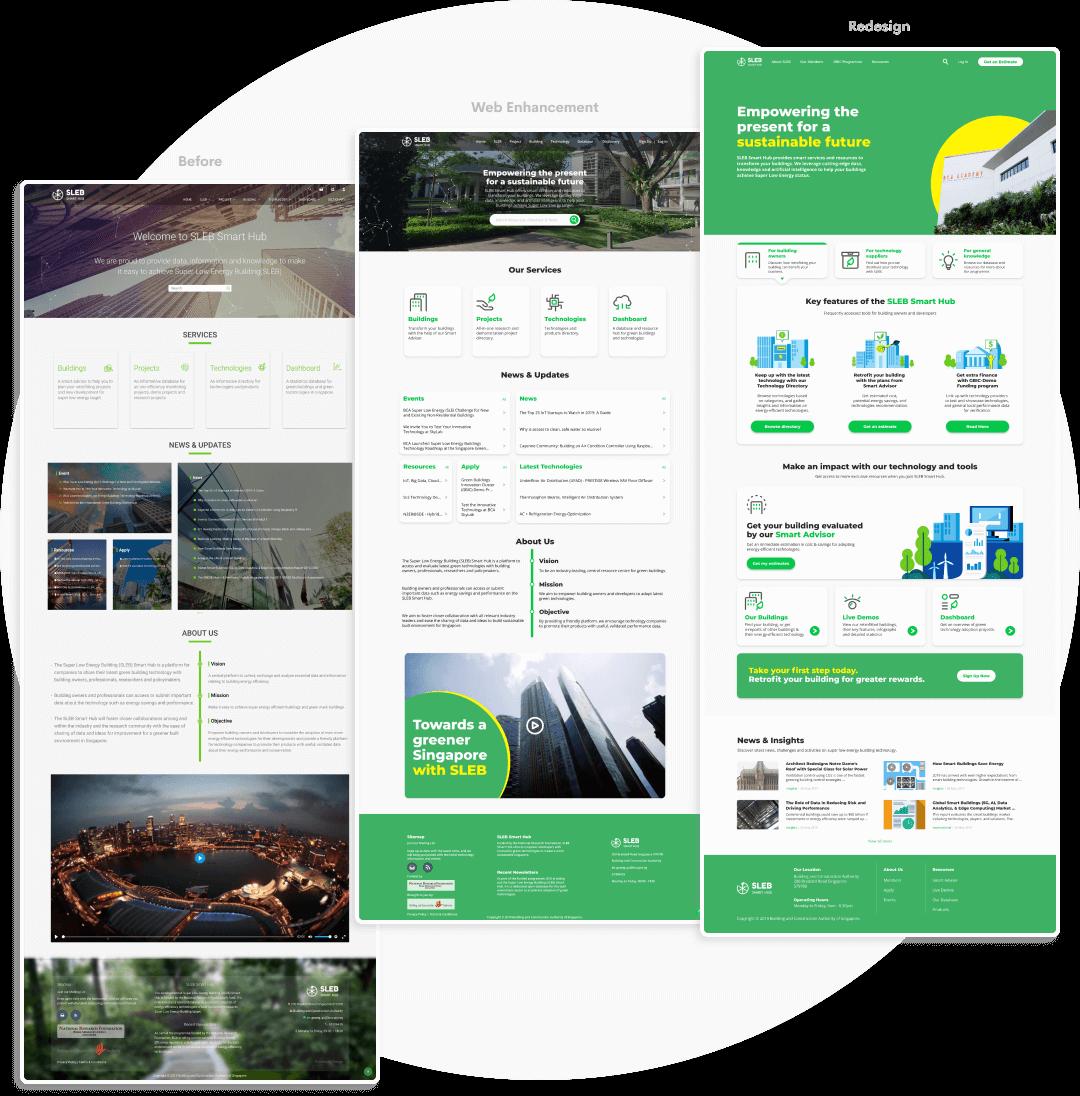 The Visual Team client web thumbnail - SLEB