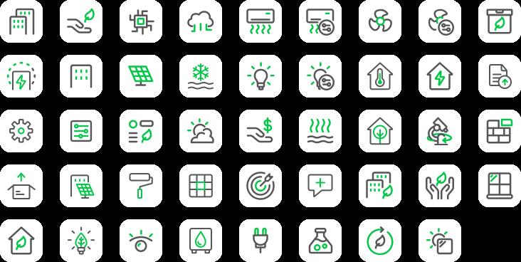 The Visual Team web icons - SLEB