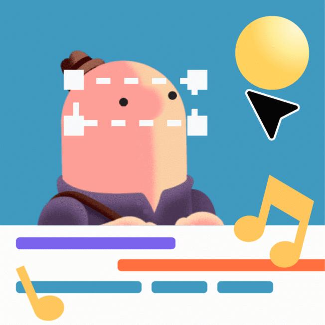 The Visual Team web animation - Tony