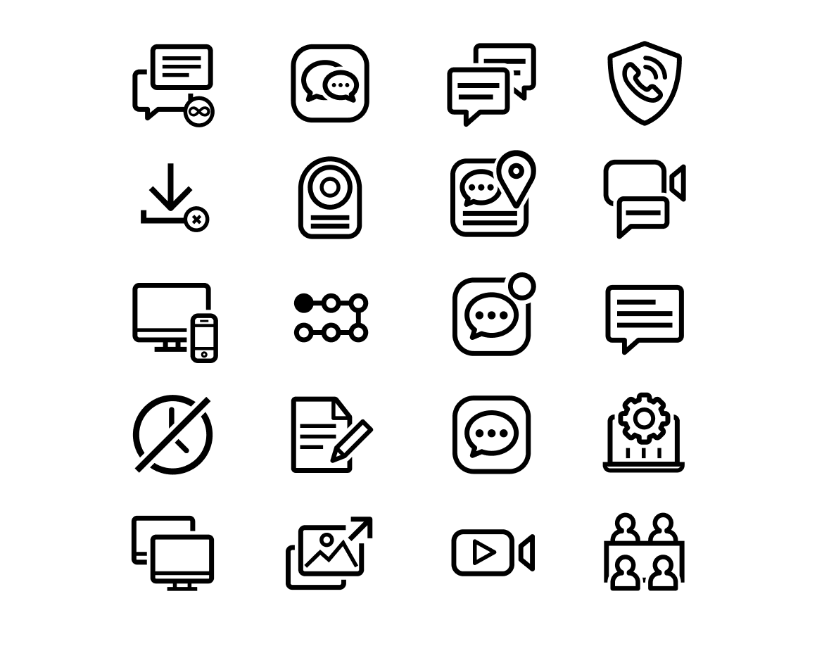 The Visual Team client web thumbnail - wavecell 8 x 8 icons