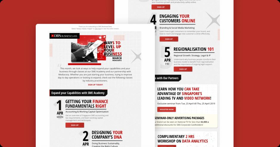 The Visual Team web thumbnail - DBS Singapore EDM thumbnail