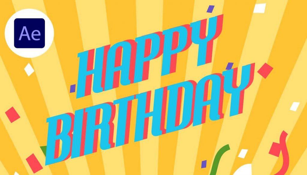 The Visual Team Good Stuff thumbnail - Jin Design Birthday Template