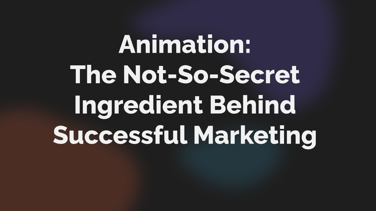 TVT thumbnail_Animation_Why you should be doing animation