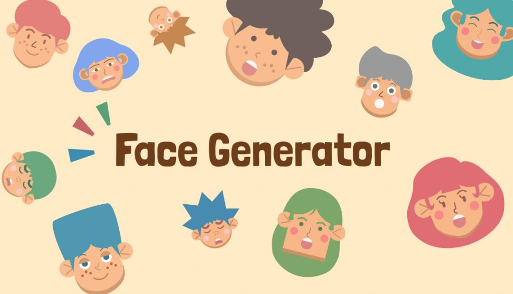 The Visual Team - Face Generator Thumbnail